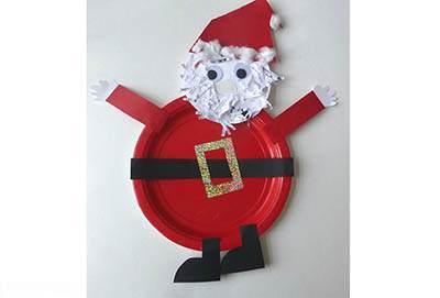 آموزش درست کردن کاردستی بابانوئل زیبا