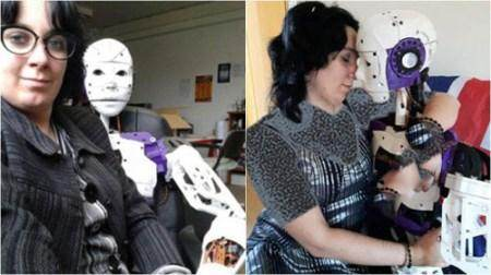 ازدواج زن فرانسوی با ربات دارای آلت جنسی