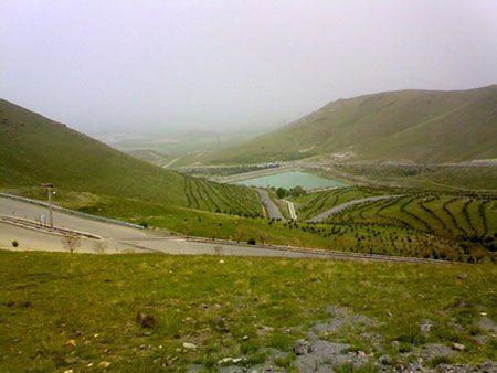 سفر به سد زیبای گاوازنگ در زنجان