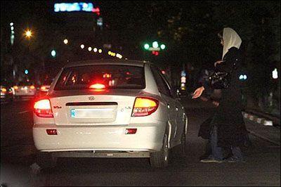 فروش ساعتی دختران جوان در این محله تهران
