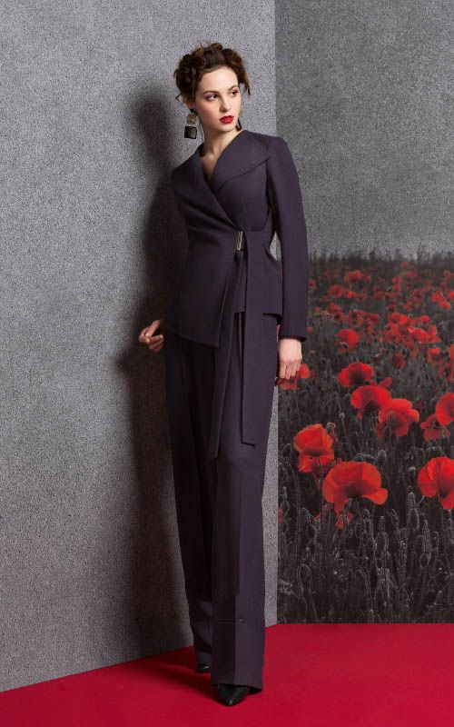 لباس مجلسی زنانه زمستانی از Aalena Goretskaya