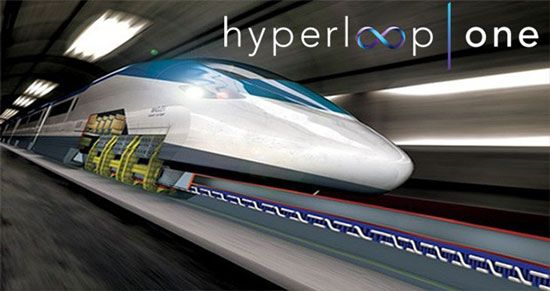 سریع ترین قطار حال حاضر جهان ایده ایلان ماسک