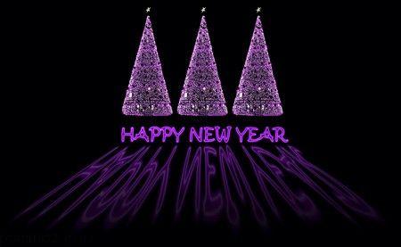 کارت پستال های زیبا برای تبریک سال نو میلادی