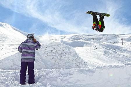 نگاهی به پیست اسکی دیزین دیدنی و زیبا