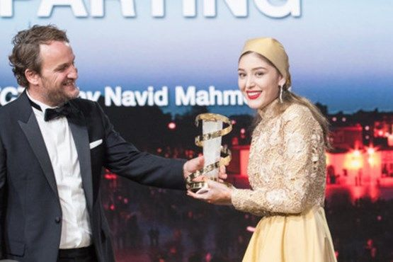 حضور جنجالی دختر فرشته افغانستان در مراکش