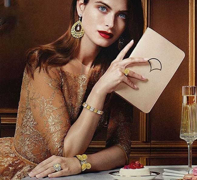 مدل های لوکس جواهرات طلا برند GraffDiamonds