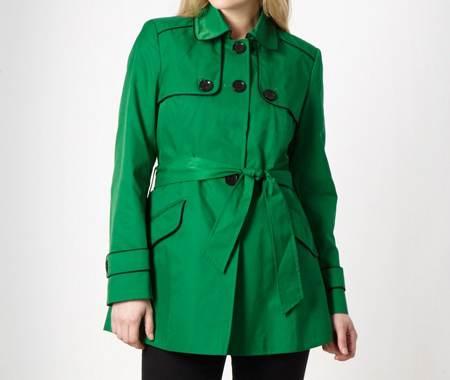 مدل های مانتو رنگ سبز مد سال 1396 -2017