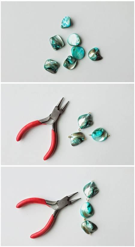 آموزش تصویری درست کردن دستبند در خانه