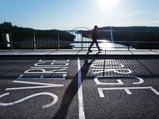 زیباترین تصاویر از مرزهای میان کشورها