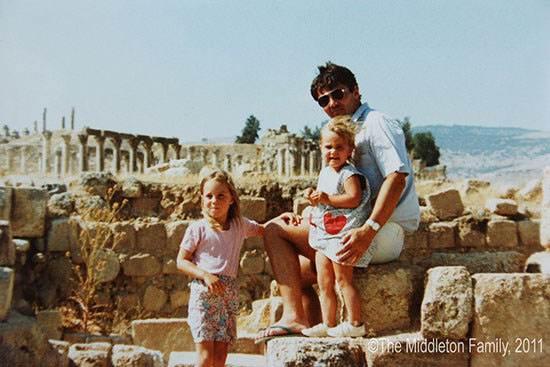 تصاویر دوران کودکی شاهزاده ویلیام و کیت میدلتون
