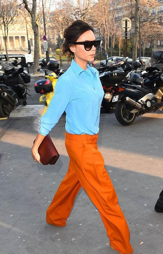 تیپ جذاب و زیبای ویکتوریا بکهام در پاریس