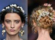 مدل های خاص مو برای عروس های زیبا 2017