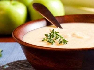 آموزش سوپ رازیانه آویشن و سیب خوشمزه و عالی