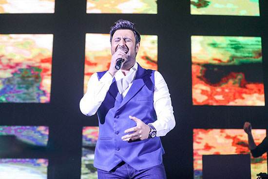تصاویر محمد علیزاده در کنسرت زمستانی برج میلاد