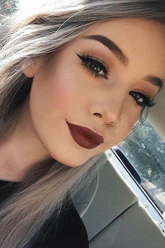 مدل های آرایش صورت زیبا و خاص 2017