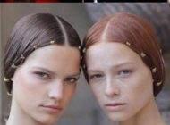 مدل های مو به سبک الهه های یونان در فشن شو 2017