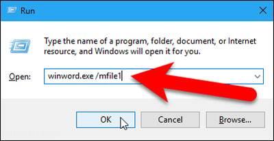 آخرین فایل باز شده در ورد را فراخوانی کنید