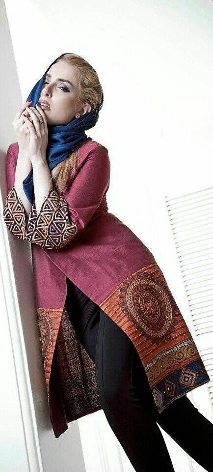 مدل های مانتو ایرانی زیبا و جذاب عید نوروز 1396
