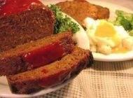 میتلف گوشت غذایی خوشمزه به شکل کیک