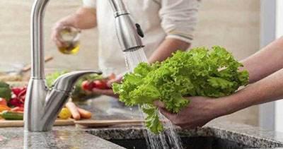 درباره شستن سبزی ها با مایع ظرفشویی