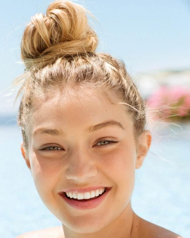 دختران زیبا و جذاب بدون آرایش روی صورت