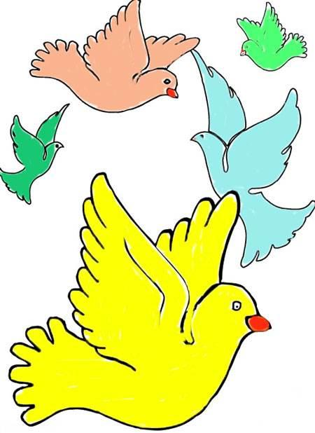 آموزش نقاشی رونالدو نقاشی های کودکانه به مناسب انقلاب اسلامی دهه فجر
