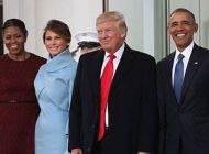رسم و رسومات جالب کاخ سفید هنگام تحلیف رئیس جمهور