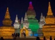 فستیوال شگفت انگیز یخی هاربین در کشور چین