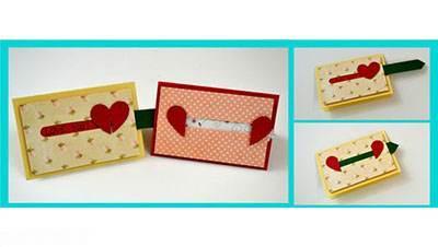 آموزش تصویری درست کردن کارت تبریک ولنتاین