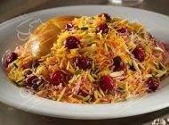 آموز تهیه آلبالو پلوی ایرانی خوش طعم