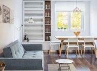 بهترین طراحی داخلی دکوراسیون آپارتمان 50 متری