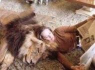 زن سوپراستار هالیوودی و زندگی با یک حیوان وحشی