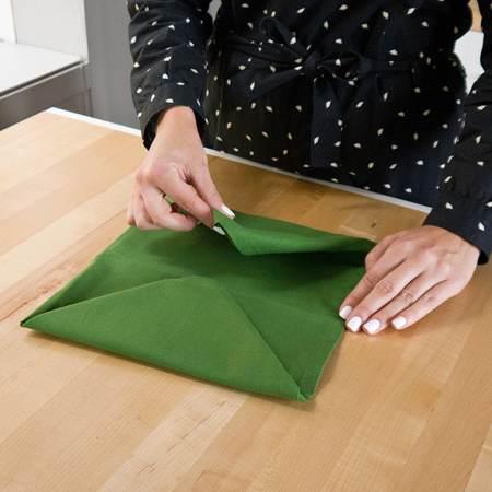 آموزش تزیین دستمال سفره زیبا و شیک