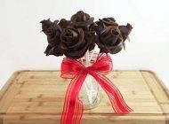 آموزش درست کردن دسته گل شکلاتی مخصوص ولنتاین