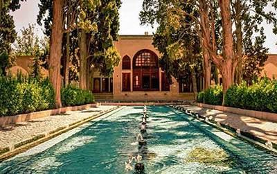 خانه تاریخی عباسیان در شهر کاشان زیبا