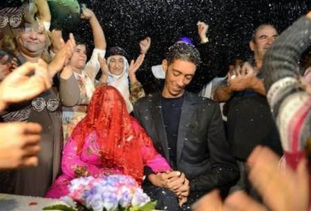 سلطان کاسن قدبلندترین مرد دنیا ازدواج کرد
