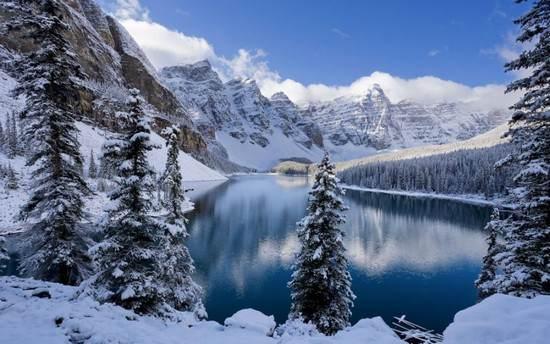 عکسهای بی نظیرترین مکان های جهان در فصل زمستان