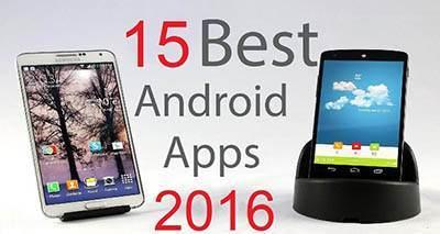 15 مورد از بهترین نرم افزارهای اندرویدی سال را بشناسید