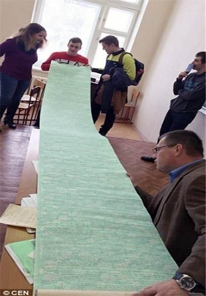 تقلب 4 متری دانشجوی روسی سر جلسه امتحان