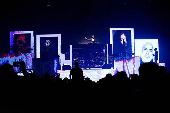 تصاویر گروه پازل باند در اولین کنسرت برج میلاد