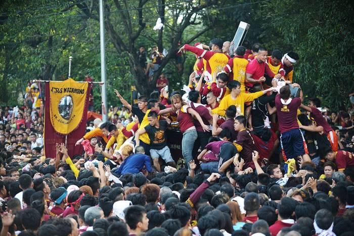 فستیوال دیدنی و جالب بلک نزارین در فیلیپین