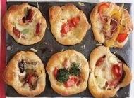 آموزش تهیه مینی پیتزای خوش طعم و عالی