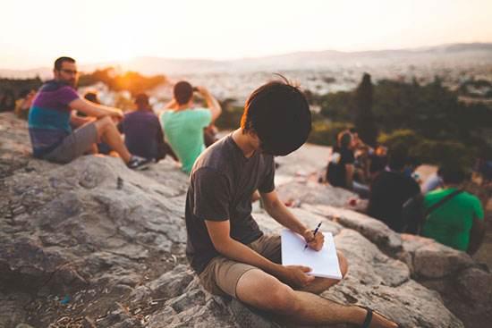 نوشتن راهی برای فرار از استرس
