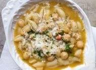 روش تهیه سوپ پاستا و نخود خوشمزه و عالی