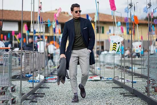 مدل لباس هفته مد خیابانی در فلورانس ایتالیا 2017