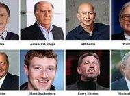 این 8 فرد پولدار نیمی از ثروت جهان را به جیب زده اند