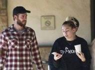 خوش گذرانی مایلی سایرس و لیام همسورث در مالیبو