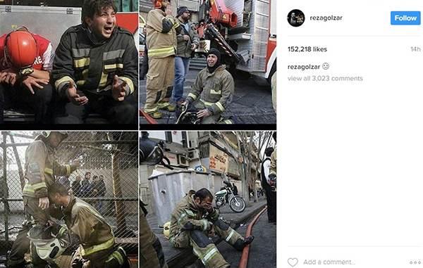 واکنش بازیگران و افراد مشهور به حادثه ساختمان پلاسکو