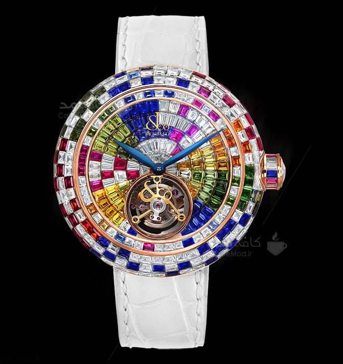 مدل های ساعت مچی زیبا و جدید برند Jacob