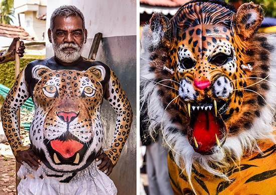 فستیوال ببرهای رقصان را در هندوستان ببینید